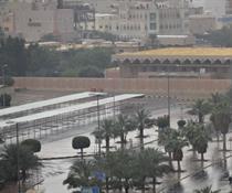 أجواء الشتاء في الكويت