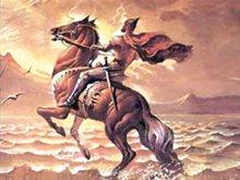 """""""سَلا القلبَ عَمّا كان يهْوى ويطْلبُ"""" للفارس عنترة بن شداد"""