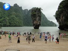 A trip to James Bond Island in Phuket