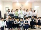 عيادة الميدان تستقبل أطفال حضانة المثنى