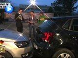بالفيديو...ركنة سيارة أدخلت صاحبها موسوعة غينيس