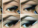 Elegant eye makeup step by step