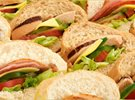 4 different Sandwich Choices from Subway