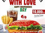 Independence Day Lebanese Chicken Royal by Burger King
