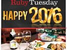 Ruby Tuesday 2016 New Year's Eve Offer