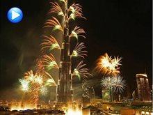 تفاصيل عرض الألعاب النارية للسنة الجديدة 2016 في دبي