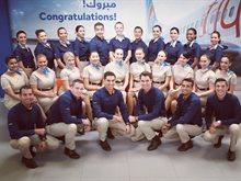 فلاي دبي تخرّج الدفعة الـ 100 من أعضاء طاقم الطيران