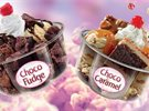 Baskin Robbins New Choco Caramel and Choco Fudge
