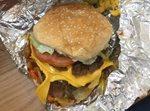Five Guys Restaurant Amazing Burger