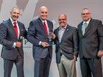 الشايع تحصد جائزة الشريك الأفضل لتمثيل العلامات التجارية عالميا في فئة المطاعم