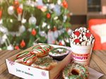 Christmas Donuts now served at Dunkin Donuts Lebanon
