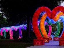 Free barbecue facilities at Dubai Garden Glow
