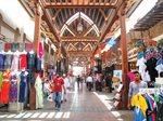 The Textile Souk or market in Dubai