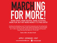 """Marching For More!"".. Taste of Q8 hosted at the Boulevard"