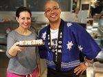 مركز سلطان يستضيف عروضاً للطهي لمحبي المطبخ الياباني العريق