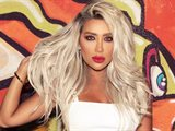Maya Diab with Hair Cover and Sunglasses at Night