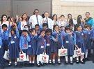 مركز سلطان يرحب بـ أطفال حضانة Jack & Jill Bhavan في فرع الجملة بالمنقف