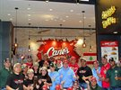 Raising Cane's Restaurant opened its first branch in Lebanon at The Spot Choueifat Mall.