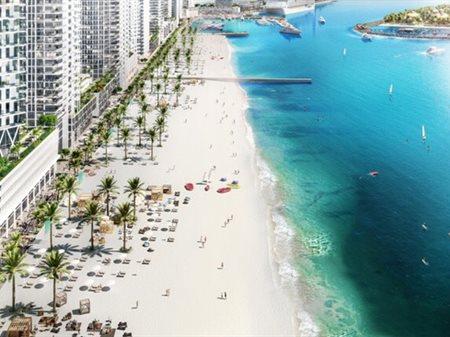 Emaar Beachfront ... a new private island set to bring Miami-style living to Dubai Marina