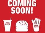 مطعم فايف جايز للبرجر سيفتتح قريبا فرعا جديدا له في الجهراء مول.
