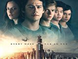 """Sci-Fi Action movie """"Maze Runner: The Death Cure"""" at Cinescape starting from today."""
