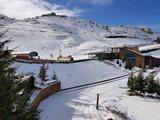 ازدهار موسم التزلج في جميع مرافق التزلج في لبنان.