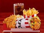 KFC New Cheese Jalapeno Twister Box