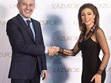 لازوردي للمجوهرات تختار ملكة المسرح ميريام فارس سفيرة جديدة لعلامتها