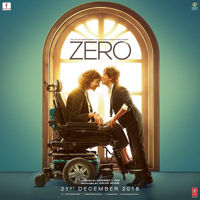 Zero Indian Movie Showing In Kuwait Starting From 21st December 2018