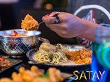 During this Month of February, Satay Thai Restaurant is offering free delivery through Carriage Application.