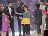 """المشترك المغربي حمزة لبيض فاز بالموسم الثاني من برنامج """"The Voice Kids"""" على شاشة MBC وقد وصل الى النهائيات بعد منافسة كان ضمنها الطفل اللبناني جورج عاصي."""