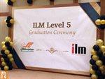 حفل تخرج مجموعة من مدراء مركز سلطان حازوا على شهادة مؤسسة القيادة والإدارة ILM 5