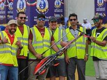 فعاليات اليوم الأول لمسابقة الخليج للطائرات اللاسلكية