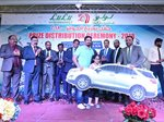 LuLu Hypermarket held a prize distribution ceremony on 17 March at its Al Rai outlet to felicitate the lucky winners of the 'LuLu Win to Drive' promotion.
