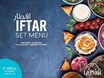 عرض إفطار وسحور مطعم لا بلايا في رمضان 2018