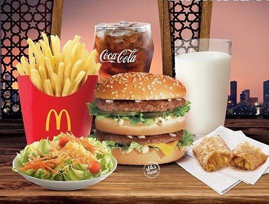 عرض إفطار مطعم ماكدونالدز الكويت لـ رمضان 2018 :: موقع رنوو.نت