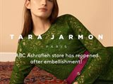 Tara Jarmon ABC Achrafieh has Reopened after Embellishment