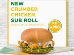 New Crumbed Chicken Sub Roll at Subway Kuwait