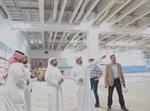 """اللجنة الأولمبية الكويتية في زيارة ميدانية لـ""""مجمّع الشيخ جابر الدولي للتنس"""""""