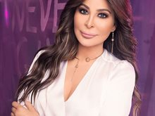 Lebanese Pop Star Elissa in Kuwait on 2nd of January 2020