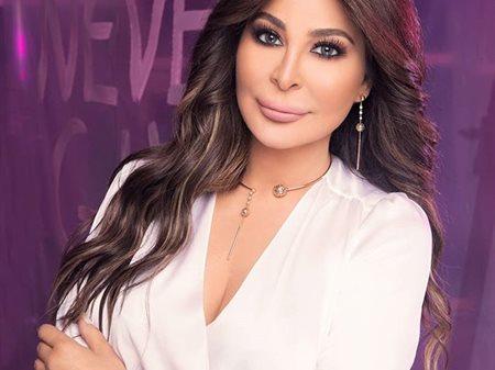 Lebanese Pop Star Elissa in Kuwait on 2nd of January 2020