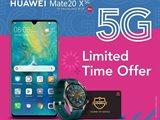 Zain New Huawei Mate 20 X 5G Offer