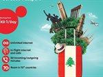 Beirut Roaming package from Ooredoo Passport