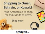Customers in Bahrain, Kuwait and Oman can now shop thousands of items on Amazon.ae through the International Shopping Experience