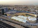 نادال يفتتح أكاديمية رافا نادال الكويت ويشارك في المباراة الأولى على أرض الملعب المكشوف