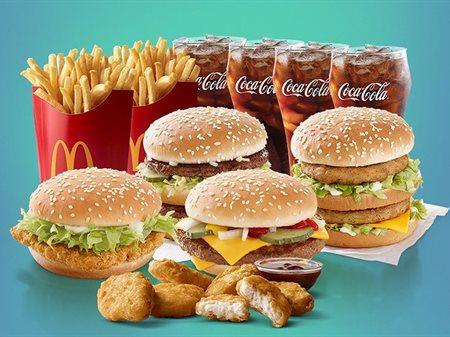 عرض وجبة الأصدقاء من مطعم ماكدونالدز الكويت