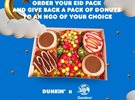 Dunkin Donuts and Gandour Lebanon Eid Al Fitr 2020 Offer