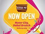 Biryani Pot Indian Restaurant is Now Open in Motor City Dubai