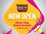 Biryani Pot Indian Restaurant is Now Open in Motor City Dubai