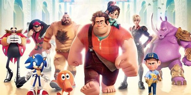 Wreck it-Ralph in Cinescape!